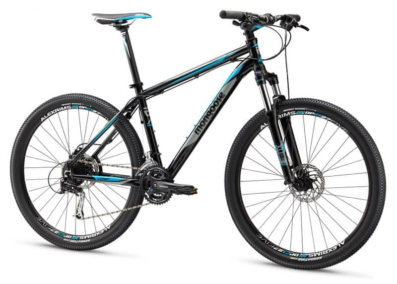 "Mongoose Tyax 27,5 Comp Black/Blue XL (21"") - II. jakost"