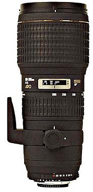 Sigma 100-300 mm F 4.0 APO EX DG (pro SONY)