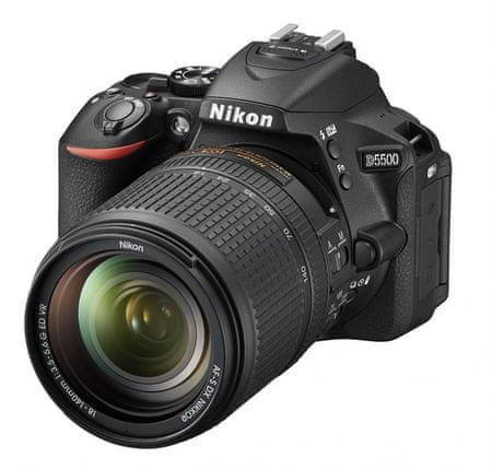 Nikon digitalni fotoaparat D5500 + 18-140VR + Fatbox + UV AIR filter