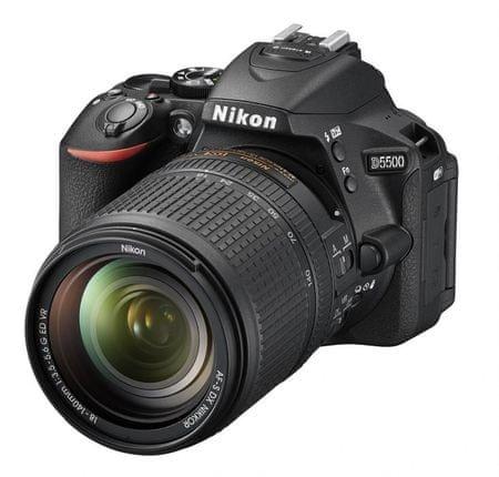 Nikon digitalni fotoaparat D5500 + 18-105VR + Fatbox + UV AIR filter