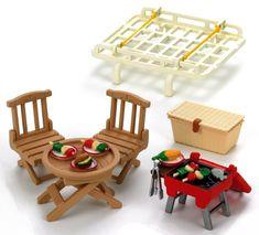 Sylvanian Families Střešní nosič s piknik setem