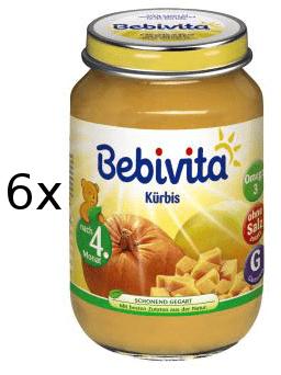 Bebivita První Dýně - 6x190g exp.31.1.2019