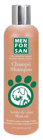 Menforsan zaščitni pasji šampon z mineralnim oljem, 300 ml