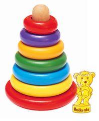 Woody Mágneses torony játék