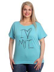 s.Oliver dámské tričko pro plnoštíhlé