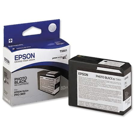 Epson toner T5801 Photo crni (C13T03474010)
