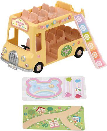 Sylvanian Families Dvojposchodový školský autobus