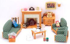 Sylvanian Families Obývací pokoj Deluxe set 2959