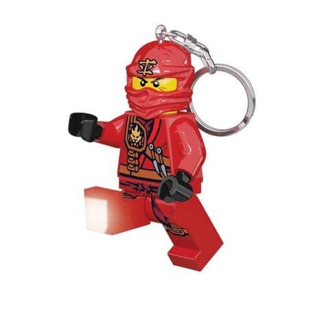 LEGO Ninjago Kai obesek za ključe z led lučjo