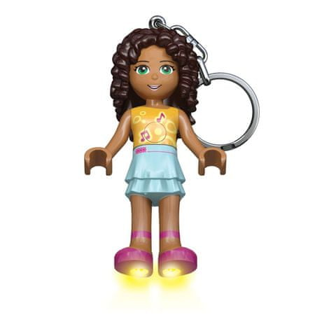 LEGO® Friends Andrea obesek za ključe z led lučjo