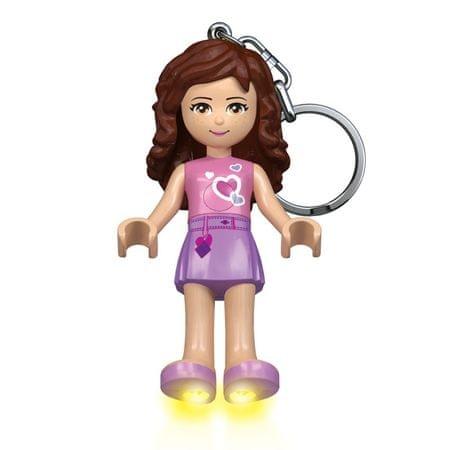 LEGO Friends Olivia obesek za ključe z led lučjo