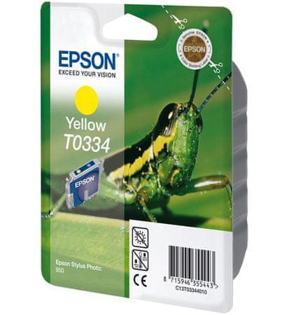 Epson kartuša T0334 Yellow (C13T03344010)