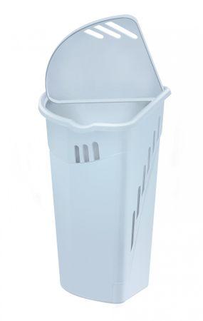 Heidrun kotna košara za perilo 35L, bela