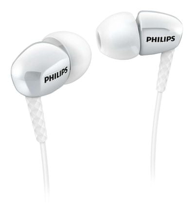 Philips ušesne stereo slušalke Philips SHE3900WT, bele