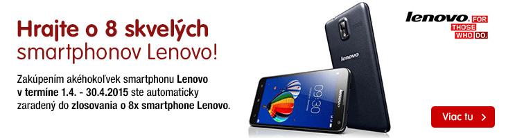Sútaž o Lenovo smartphone
