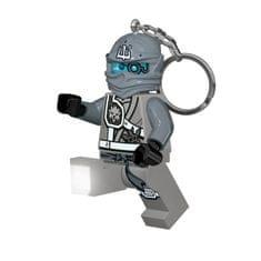 LEGO® Ninjago Zane privjesak za ključeve s LED svjetlom