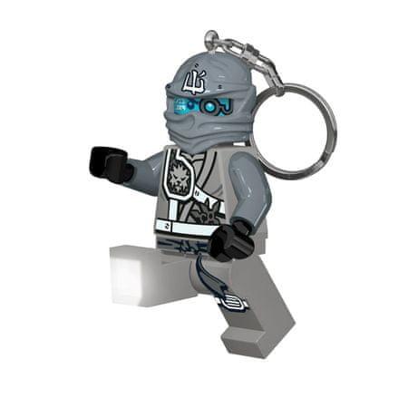 LEGO Ninjago Zane obesek za ključe z led lučjo