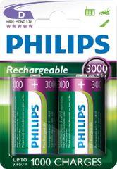 Philips baterie D 2ks 3000mAh