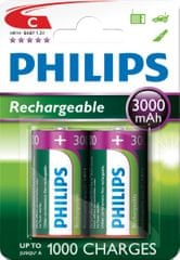 Philips C 2ks 3000mAh Rechargeables (R14B2A300/10)