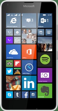 Microsoft Lumia 640 Dual SIM, biely