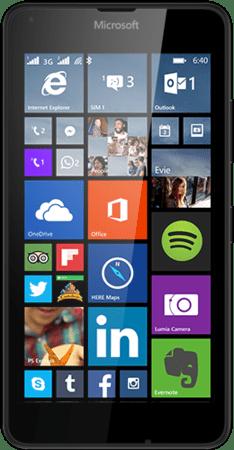Microsoft Lumia 640 Dual SIM, černý - II. jakost