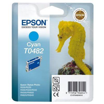 Epson kartuša T0482 (C13T04824010), cyan