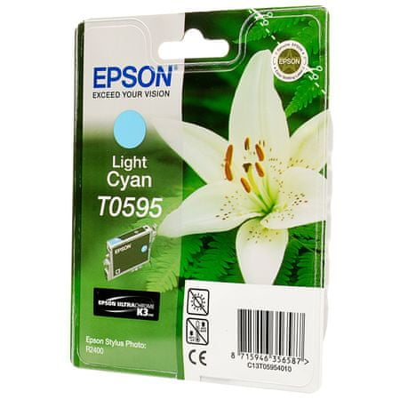 Epson kartuša T0595 (C13T05954010), Light Cyan