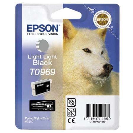 Epson kartuša T0969 (C13T09694010), Light Light Black