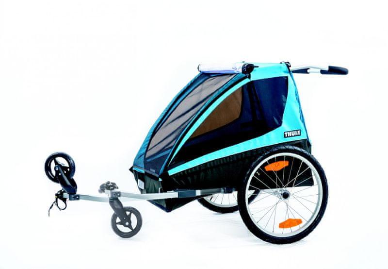 Thule vozík Coaster Bike Trailer+Stroll - II. jakost