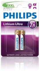 PHILIPS Ultra AAA ceruzaelem, 2 db (FR03LB2A/10)