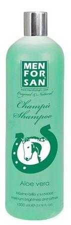 Menforsan Přírodní zklidňující, hojivý šampon s výtažky s Aloe Vera pro koně 1000ml