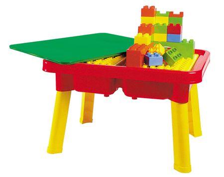 Unico Plus építőasztal kockákkal