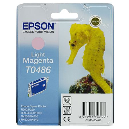 Epson kartuša T0486 (C13T04864010 ), Light Magenta