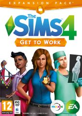 EA Games Sims 4: Get To Work (PC)
