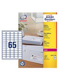 Avery Zweckform etikete L7651-100, 38.1 x 21.2 mm, bele