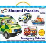 GALT Tvarované puzzle - záchranné vozidlá
