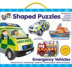 Galt Tvarované puzzle – záchranné vozy