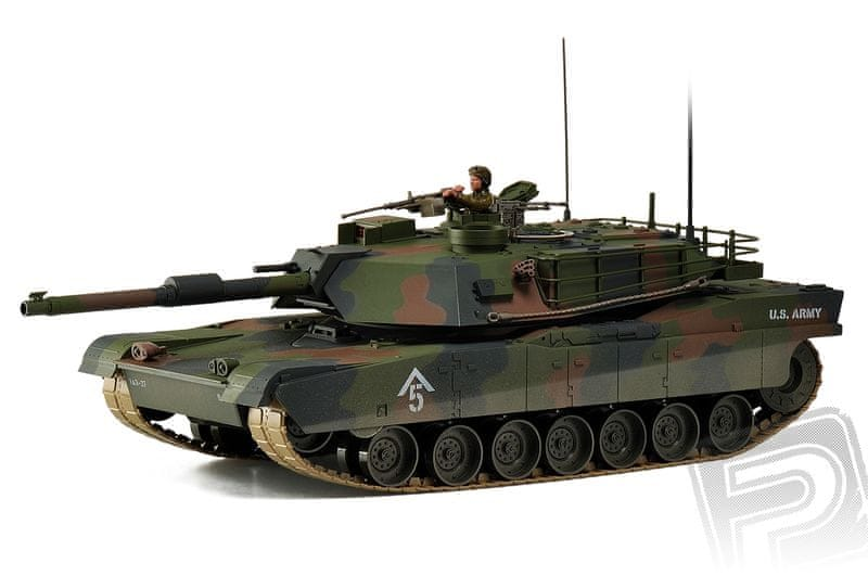 Hobby Engine M1A1 Abrams 1:16, RC tank 27MHz