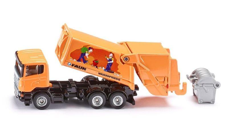 SIKU Popelářské auto Scania, 1:87