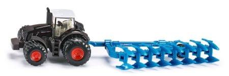 SIKU Farmer: traktor Fendt s plugom, 1:87