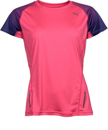 Puma koszulka sportowa Ignite S S Tee W Fluo Flash Pink S