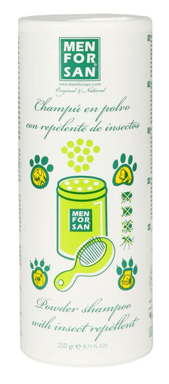 Menforsan Práškový šampon s repelentem 250g