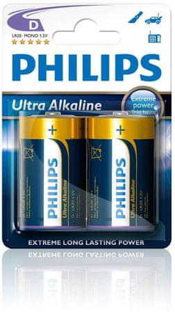 Philips baterie (LR20E2B/10)