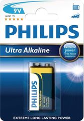 Philips 9V 1ks Ultra Alkaline (6LR61E1B/10)
