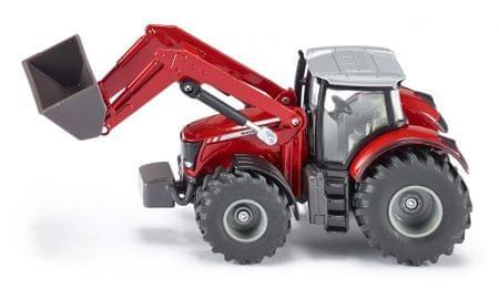 SIKU Farmer: traktor Massey Ferguson z nakladačem, 1:50