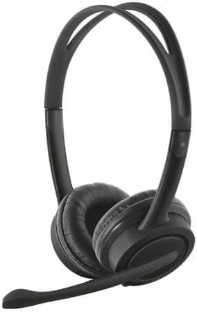 Trust slušalke z mikrofonom Mauro 17591 USB