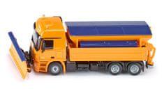 SIKU Kamion hótolóval és sószóróval, 1:50