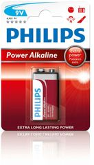 Philips bateria 9V 1 szt Power Alkaline (6LR61P1B/10)