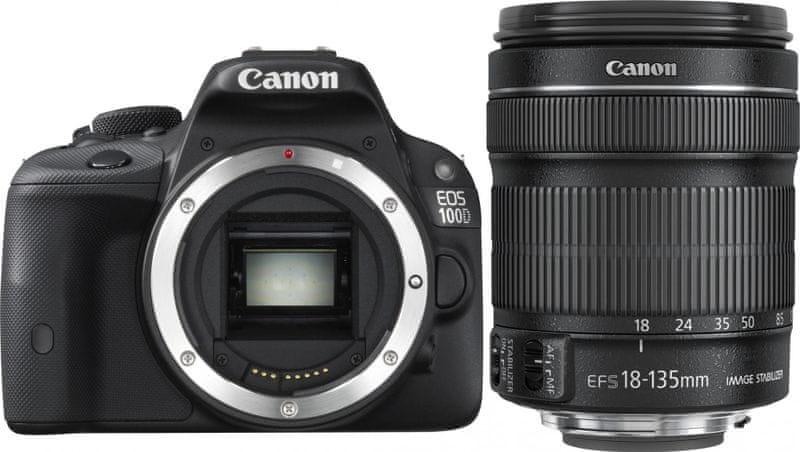 Canon EOS 100D + 18-135 STM + 1300 Kč od Canonu zpět