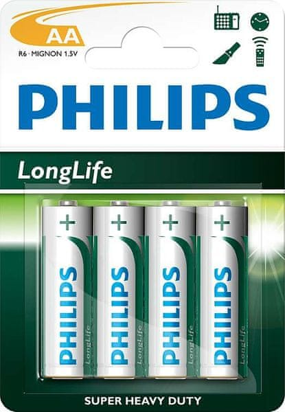 Philips AA 4ks LongLife (R6L4B/10)